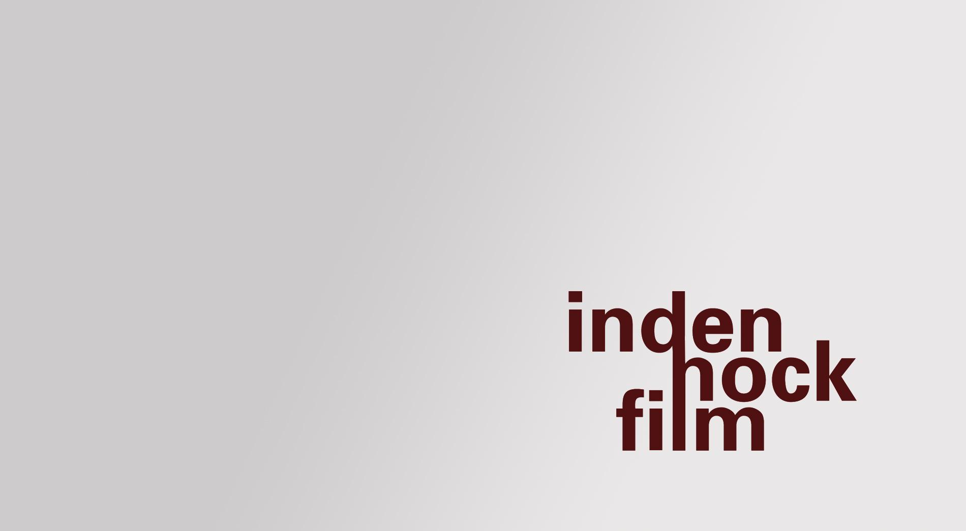 Schriftzug für eine Filmemacherin