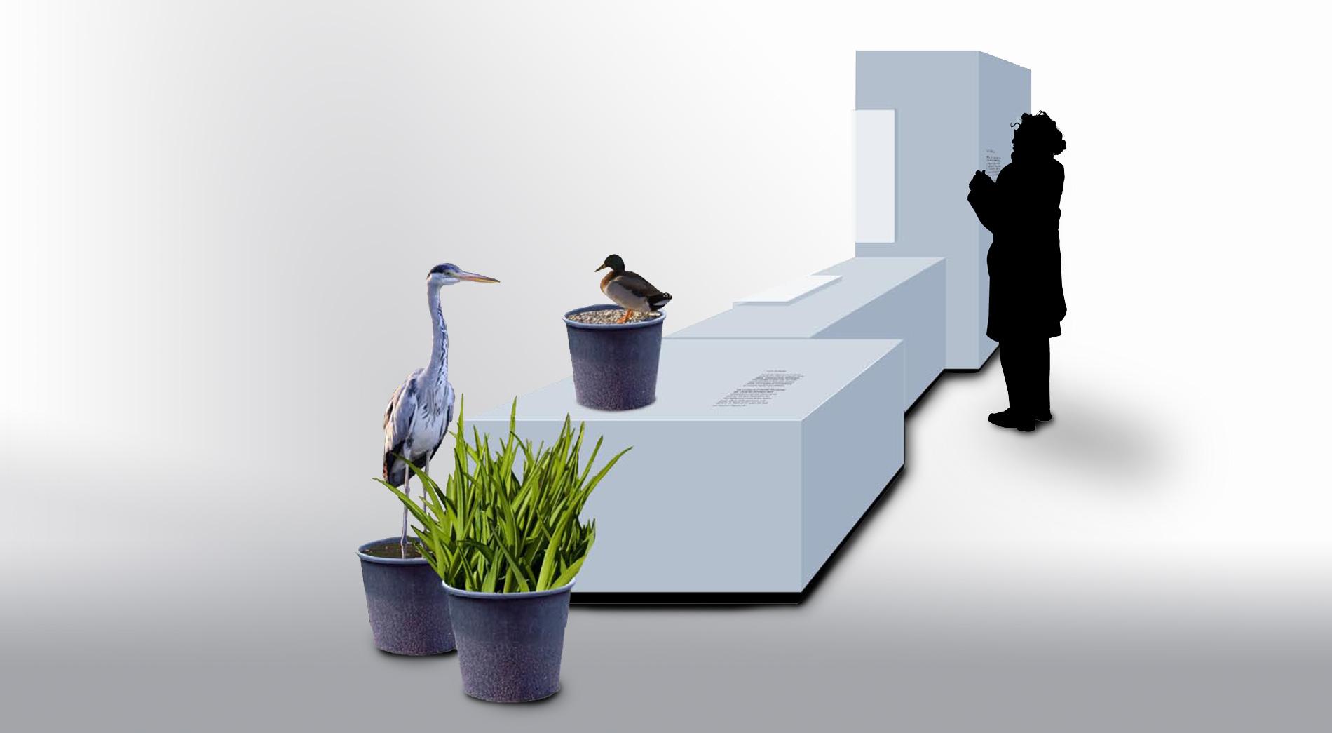 Konzept Wettbewerb Fischereimuseum Bergheim