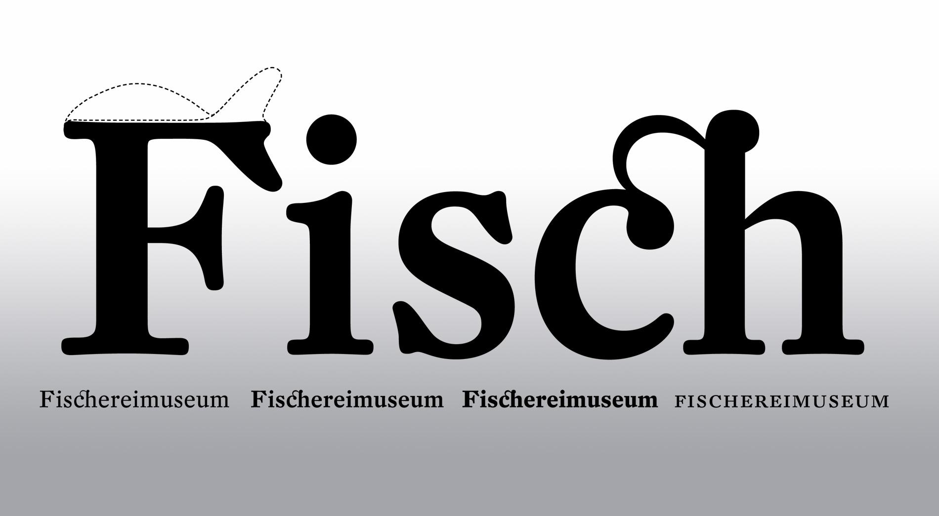 Typografie Wettbewerb Fischereimuseum Bergheim