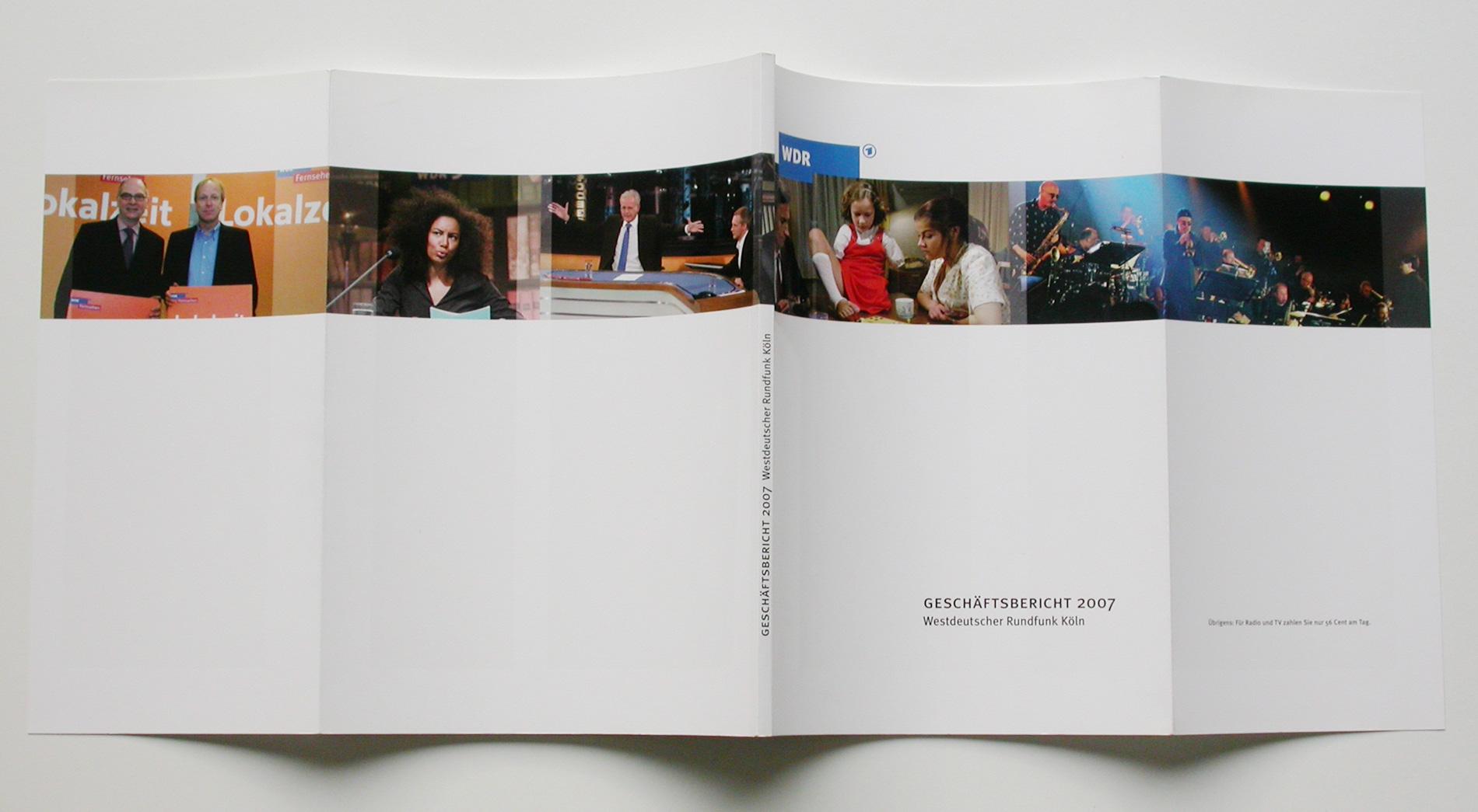 Titel WDR Geschäftsbericht 2007