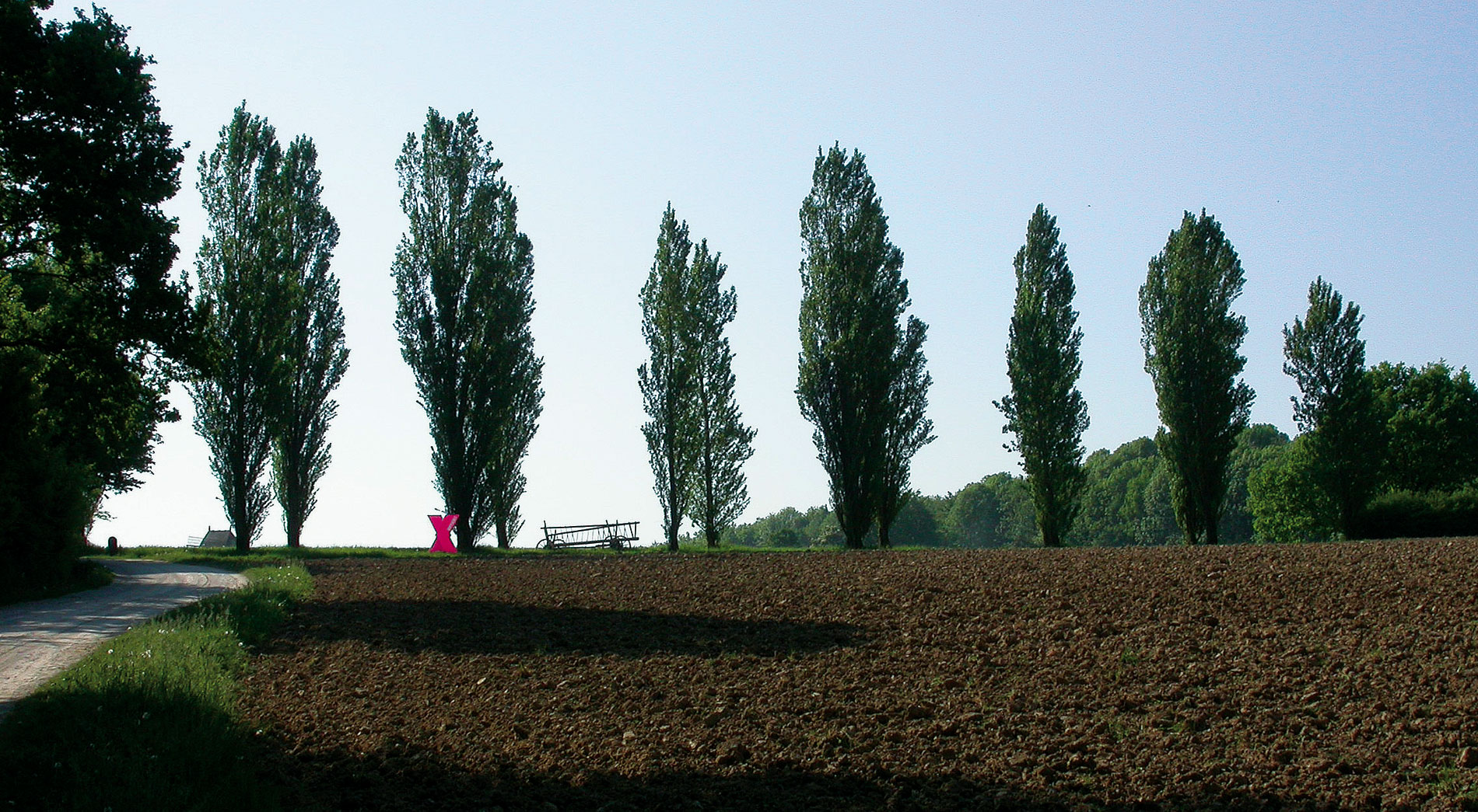 In Fahrt, Jahresausstellung 2008 des Freilichtmuseum Detmold, Leitsystem, Infostation