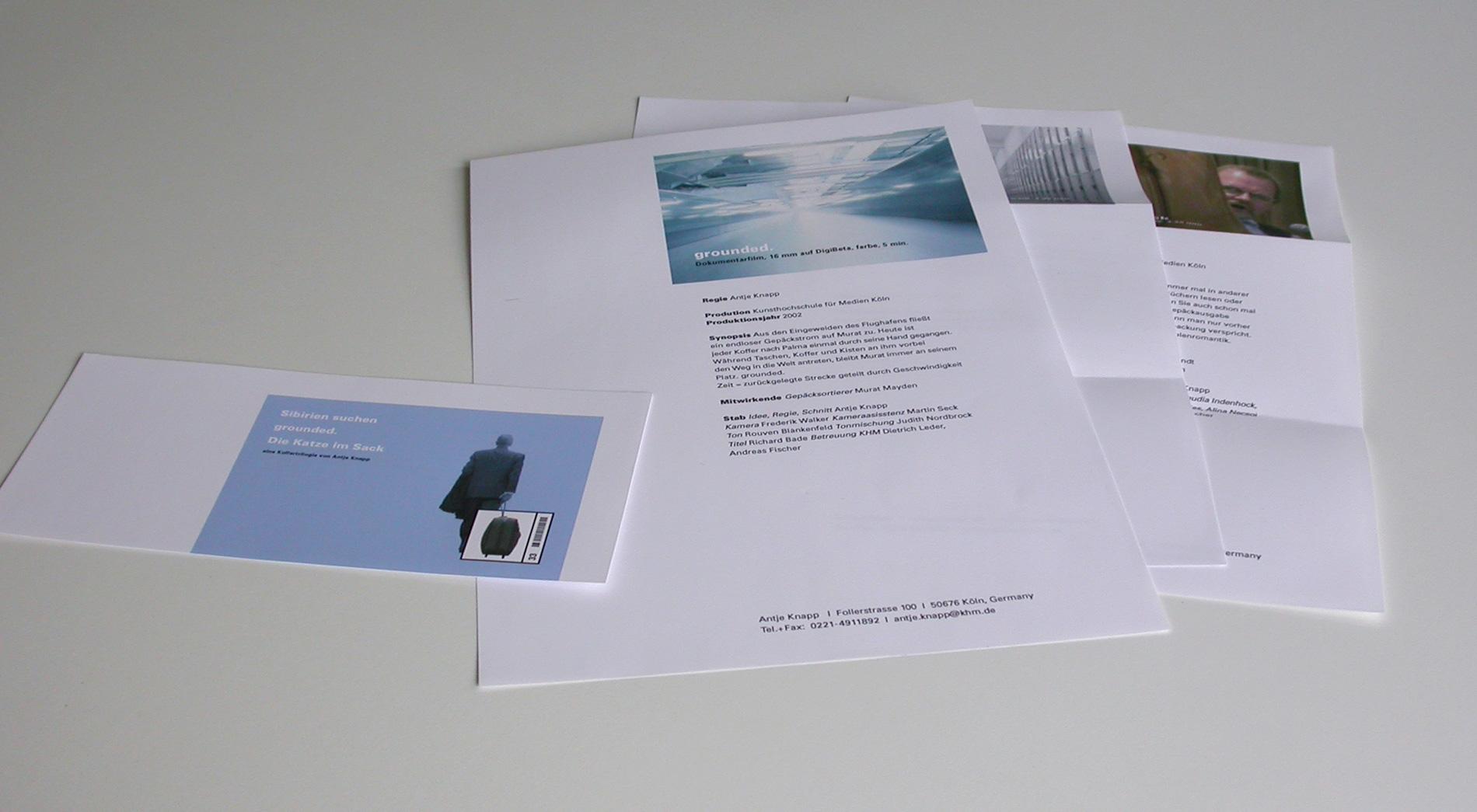 Gestaltung der Exposéevorlagen