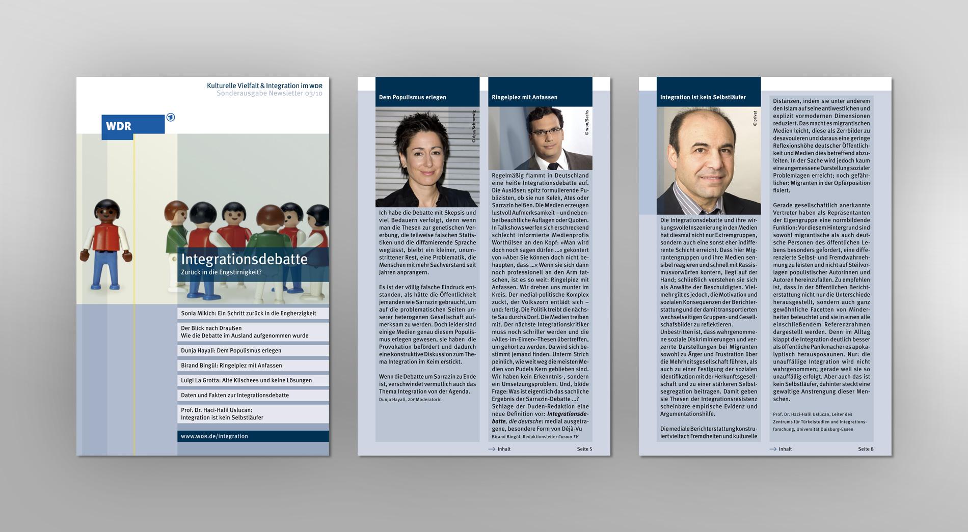 WDR Newsletter 03/2010 für kulturelle Vielfalt und Integration