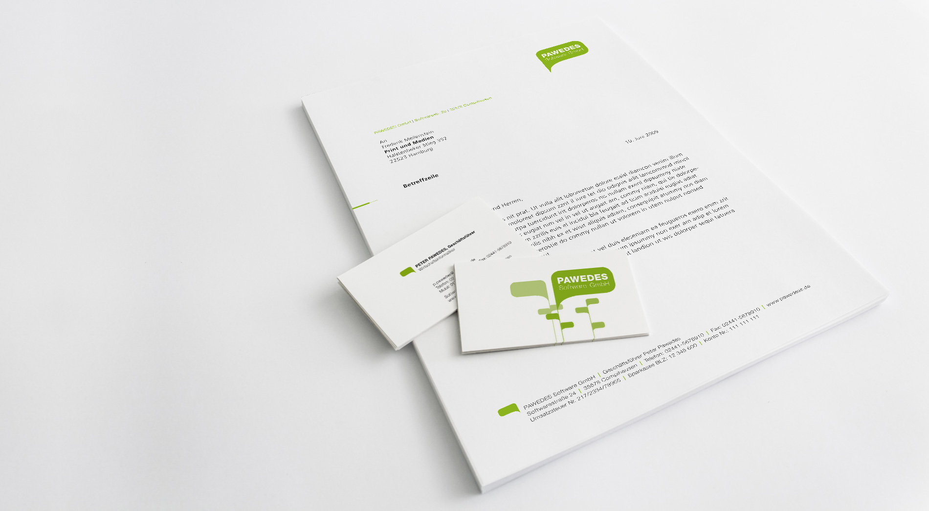 Corporate Design Pawedes