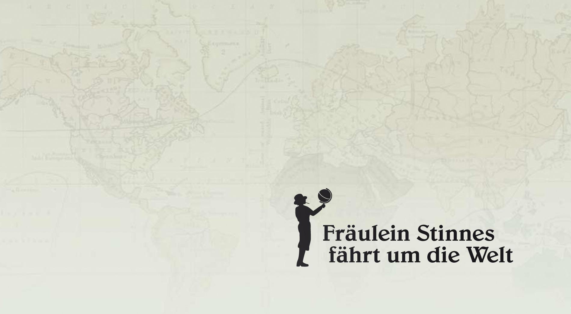 Logo für FIlm Fräulein Stinnes fährt um die Welt