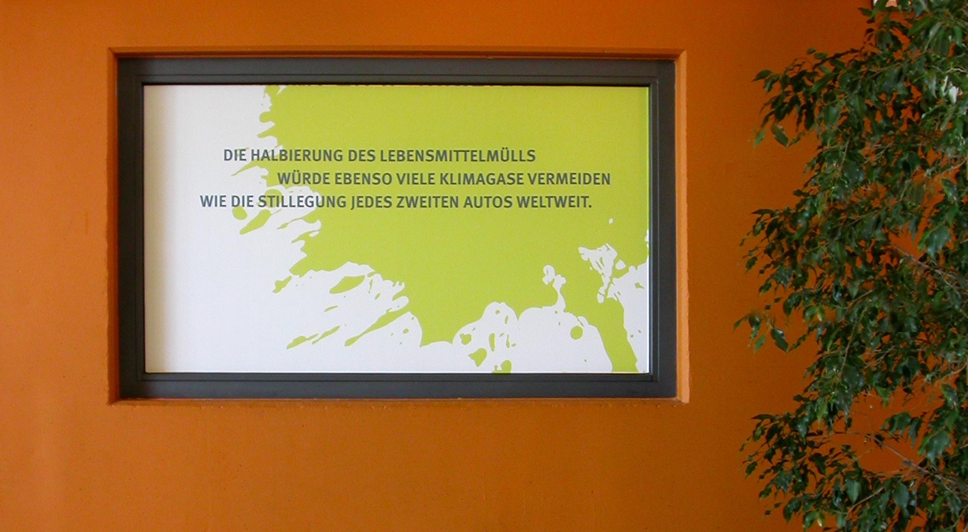 Branding Kino Cinenova zur Premiere des Films Taste the Waste