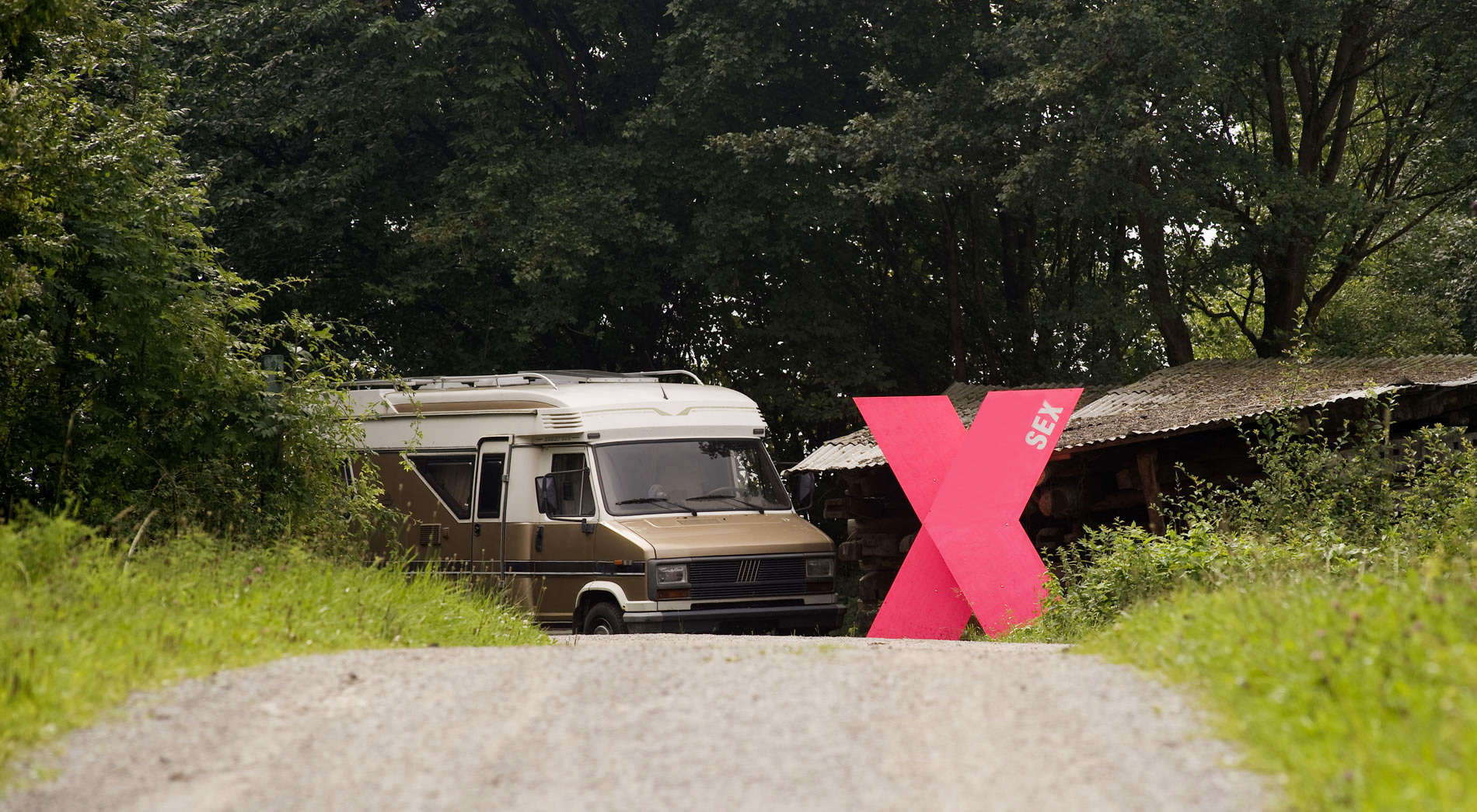 Infostation Sex der Jahresausstellung 2008 des Freilichtmuseum Detmold