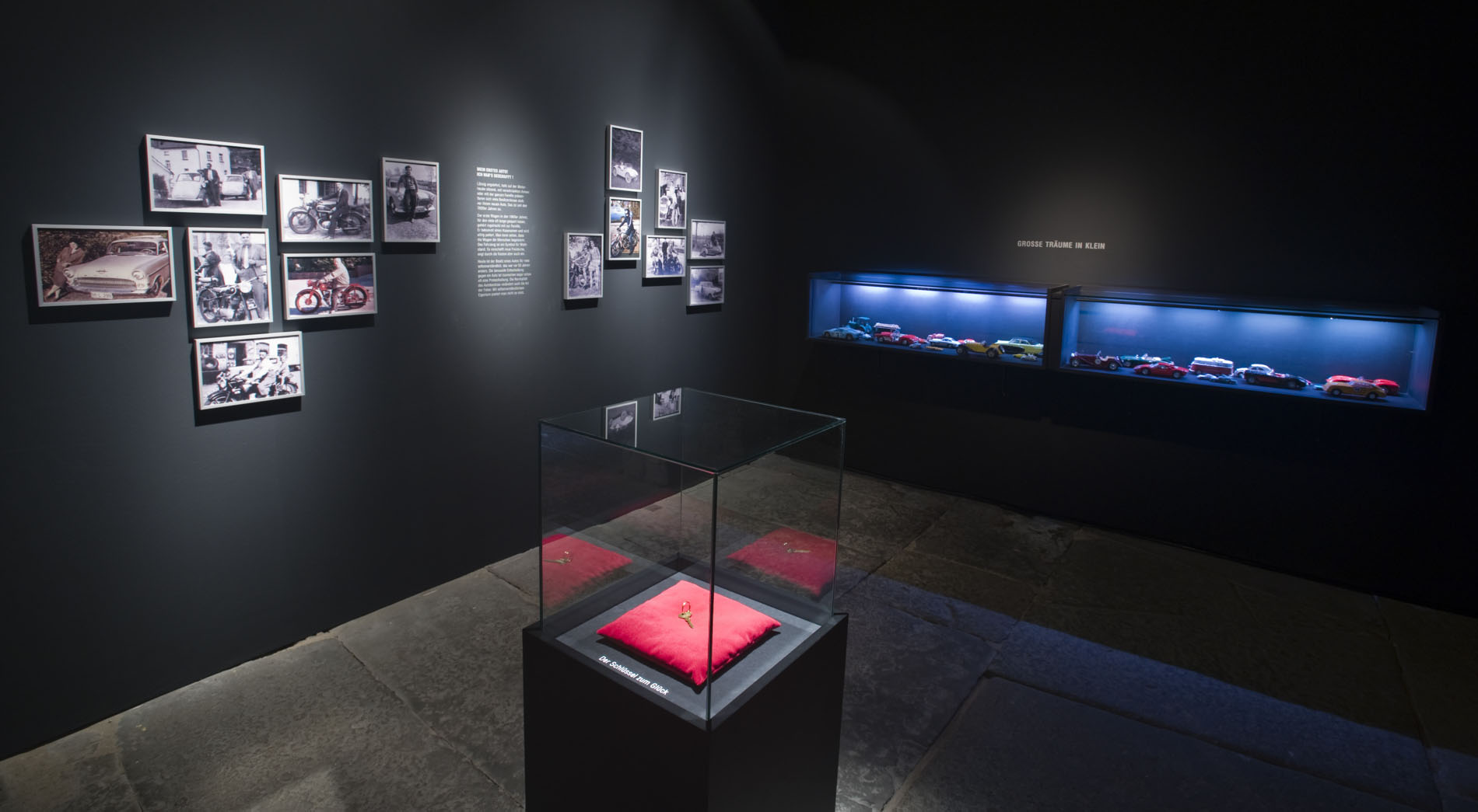 Der Schatz in Mein erstes Fahrzeug, Freilichtmuseum Detmold, Eingangsbereich
