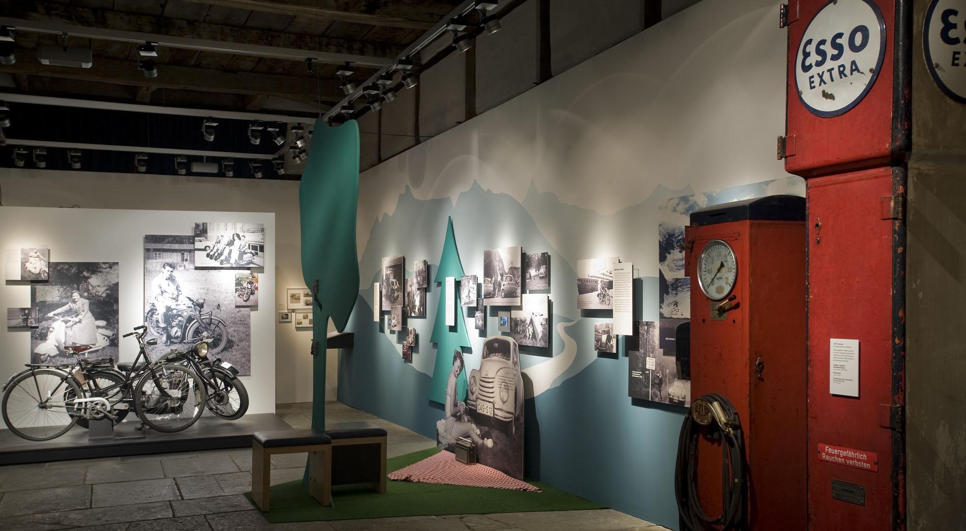 Sehnsüchte und Erinnerungen Mein erstes Fahrzeug, Freilichtmuseum Detmold